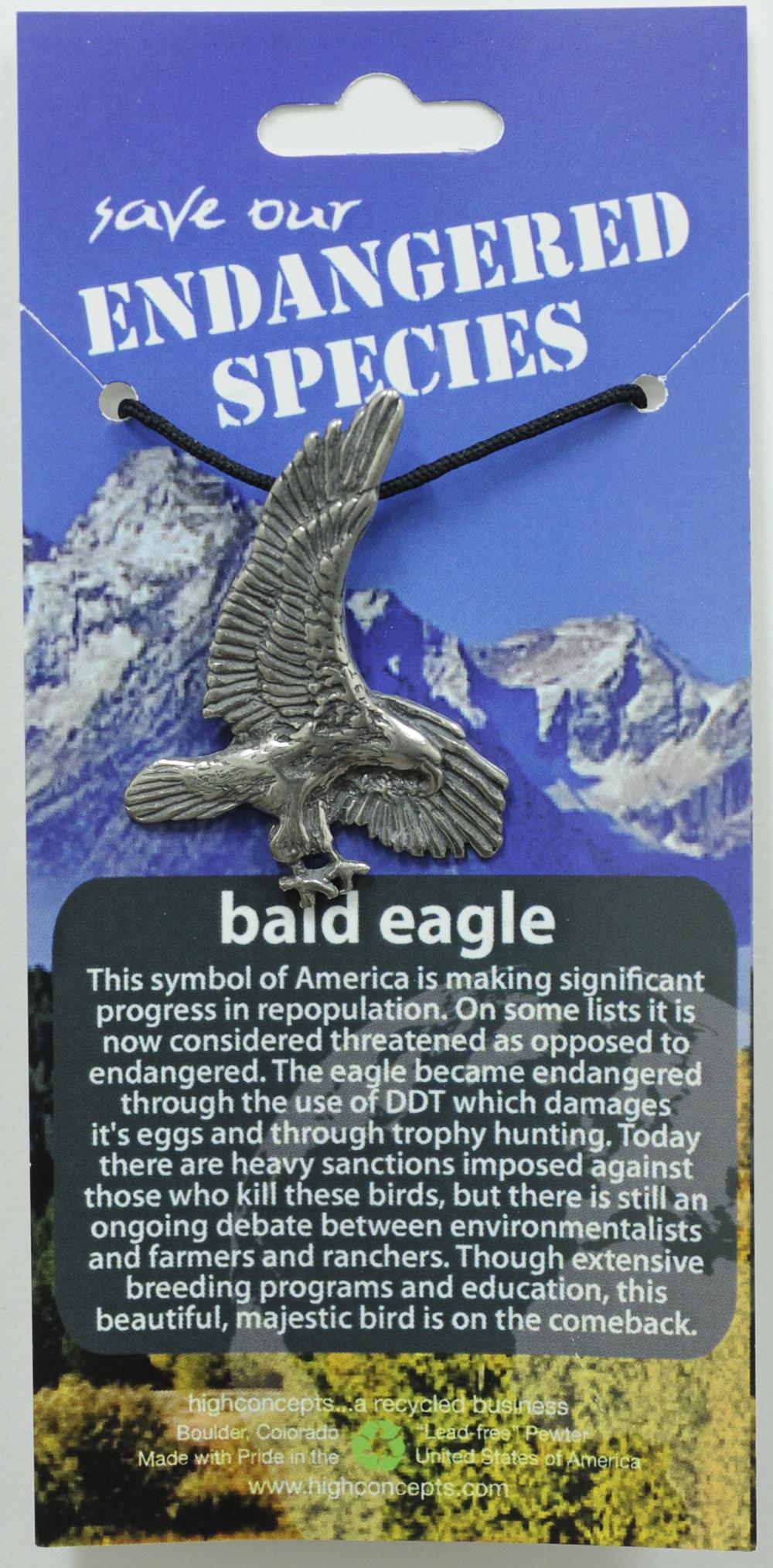 Bald Eagle Pendant Necklace