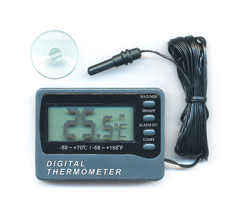 Aquatic Digital Thermometer with Remote Probe