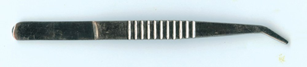 Forcep, Metal (Angular Tip)