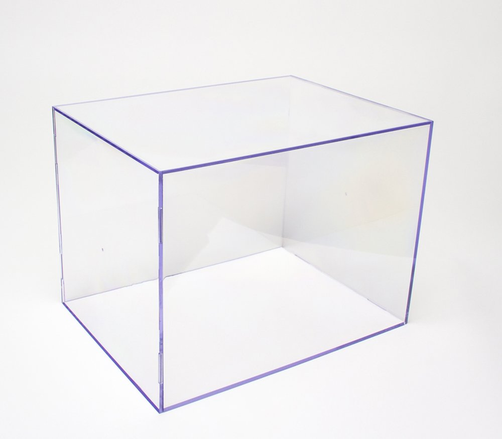 """Clear Display Case """"H"""" (Extra-Large Rectangular)"""