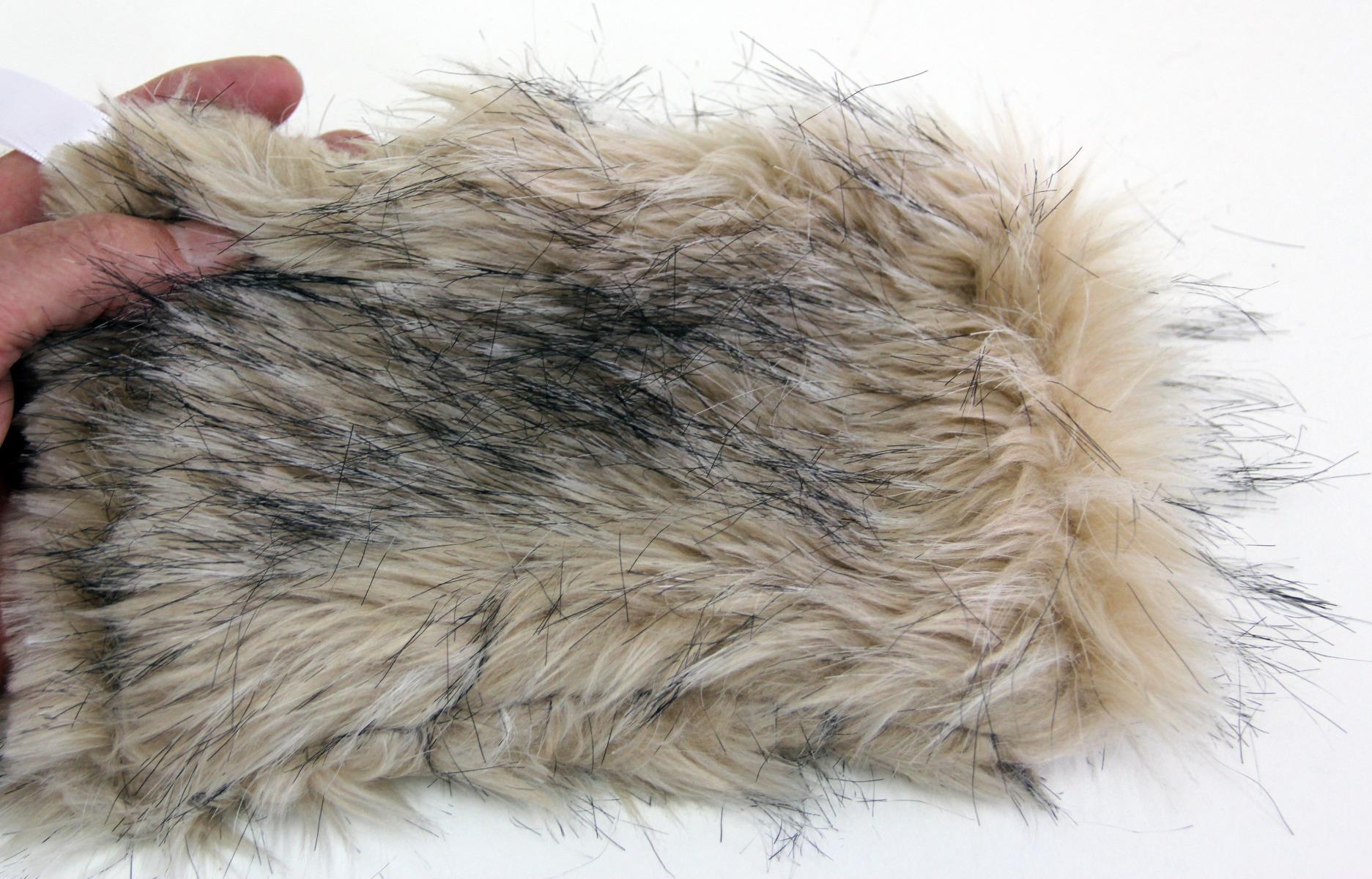 Bear (Black: Blond Phase) Kind Fur® (Swatch)