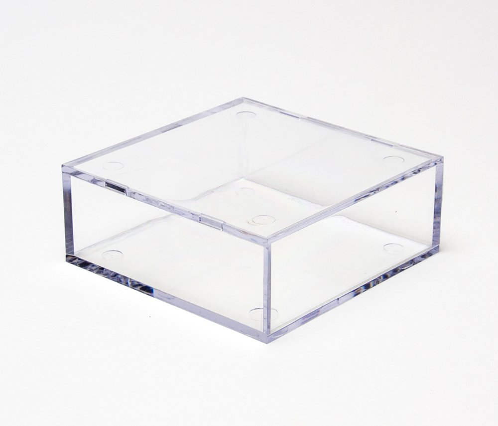 """Clear Display Case """"B"""" (Small Flat Square)"""