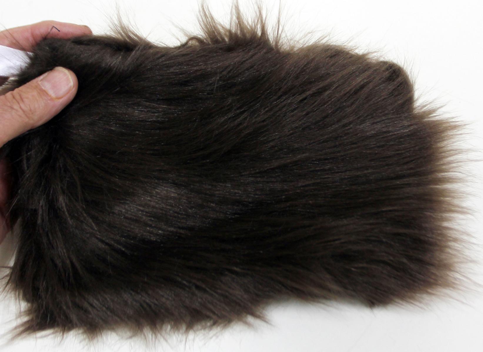 Bear (Black: Brown Phase) Kind Fur® (Swatch)