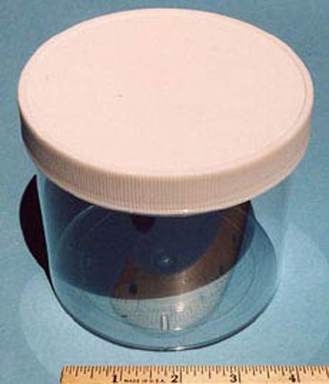 Specimen Jar (Clear Plastic, 32 Fluid Ounces)