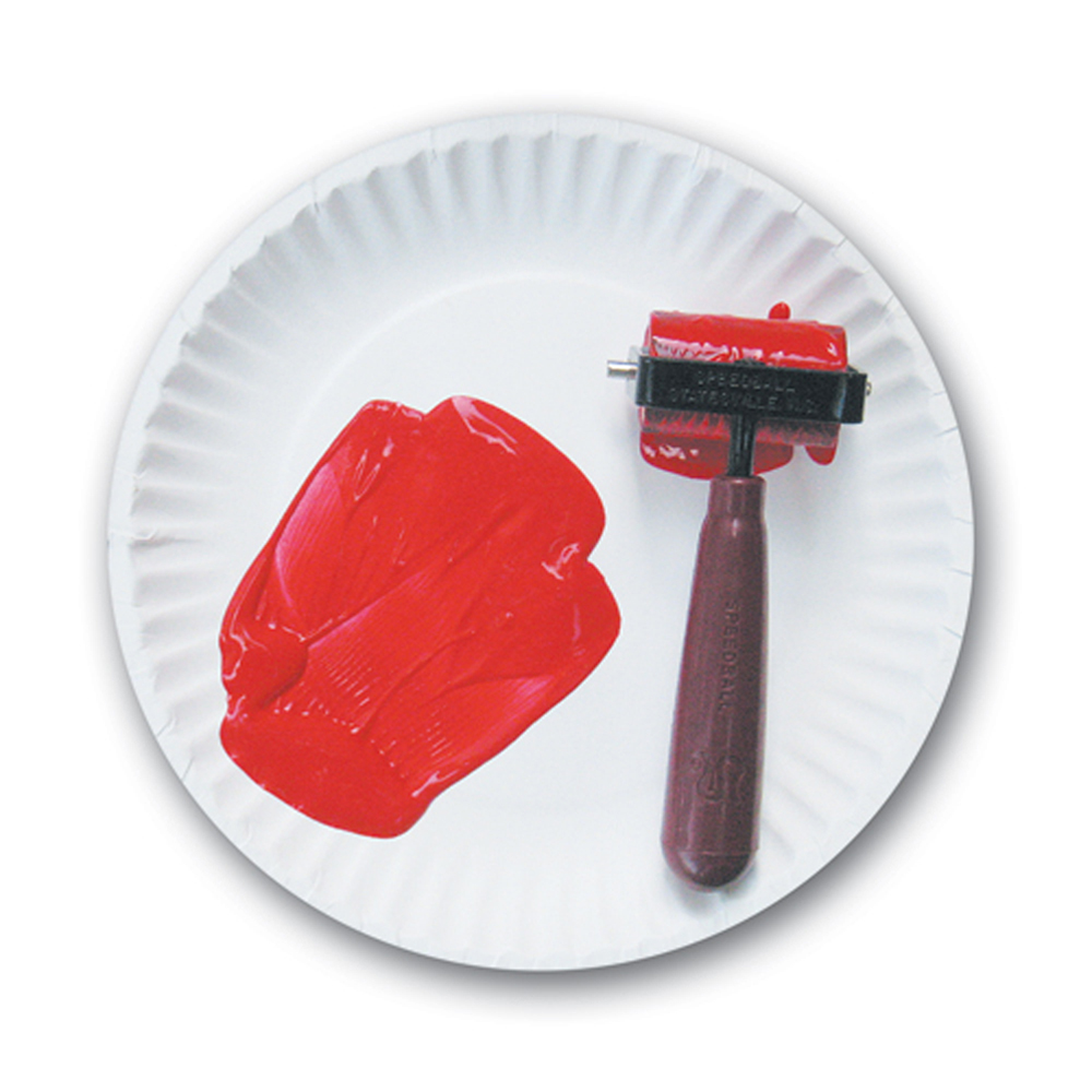 "Brayer (2"" Rubber Ink Roller)"