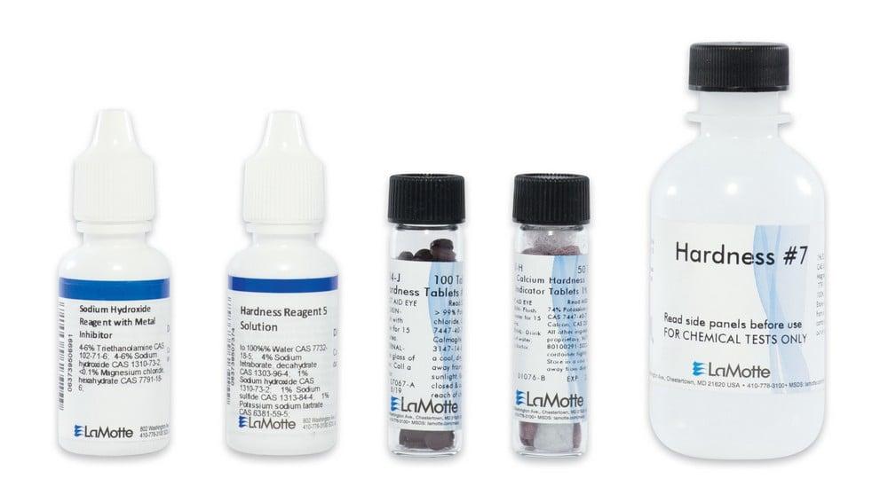 Hardness - Calcium, Magnesium, and Total Hardness Test Kit (Refill)