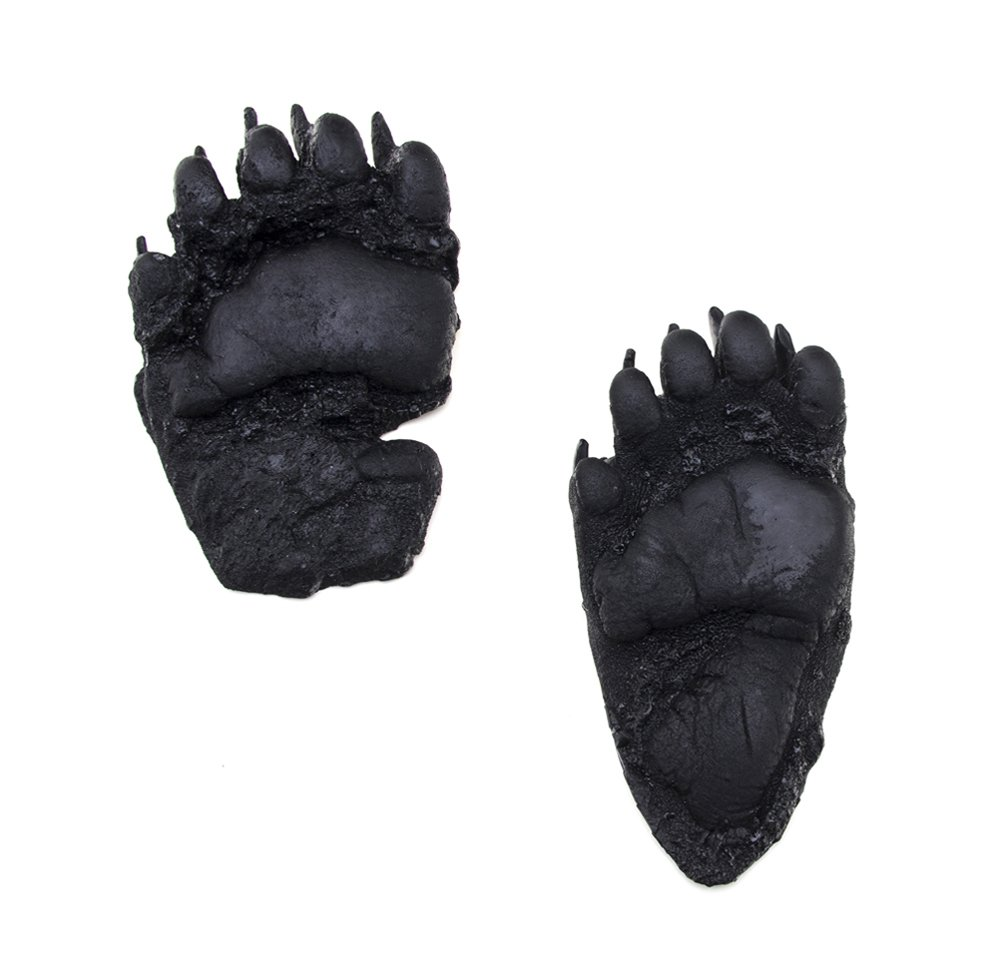 Bear (Black) Flexible Track Replica: Yearling