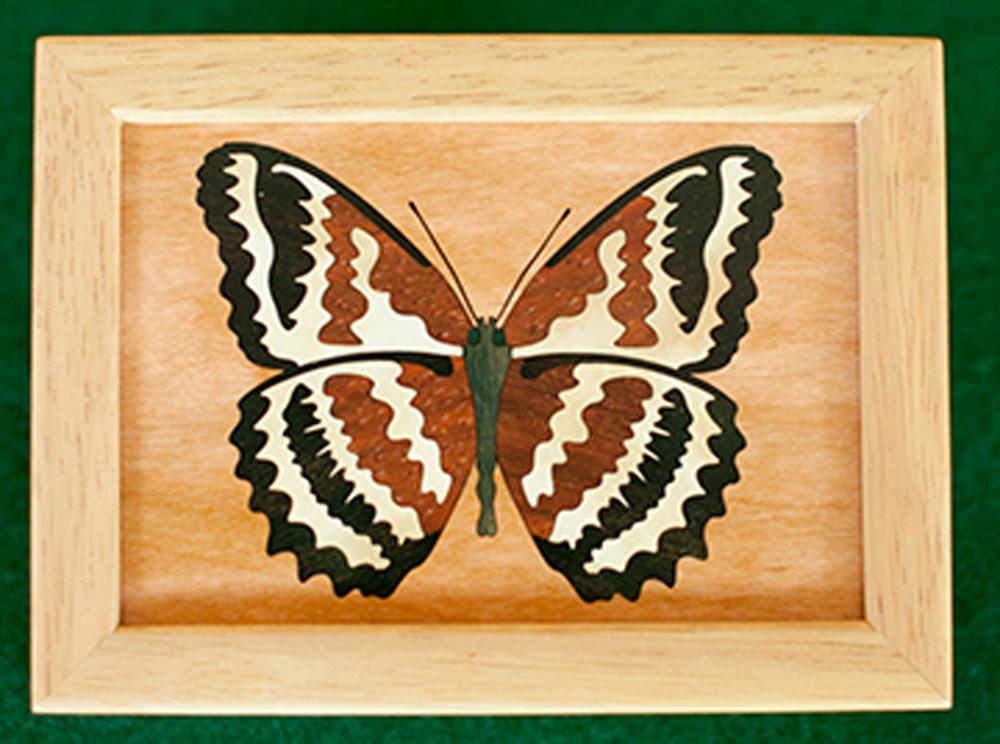 "Butterfly Wood Box (4"" x 5"")"