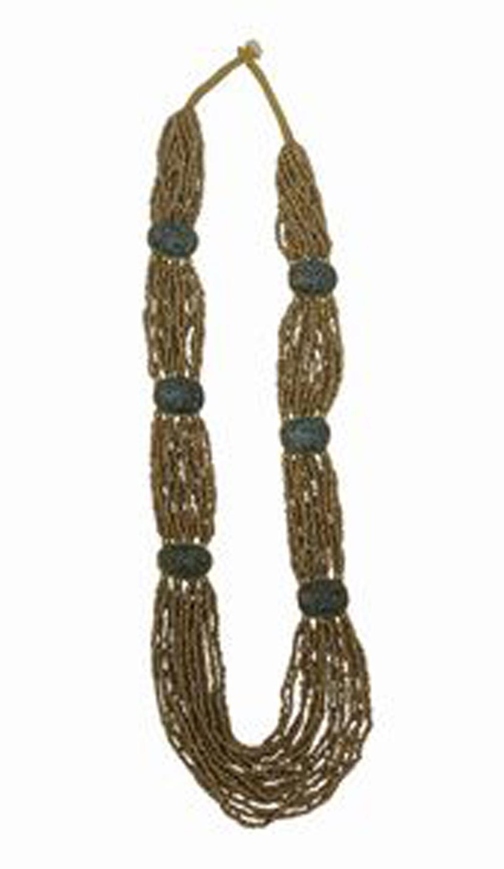 Tibetan Naga Tribal Necklace (Gold)